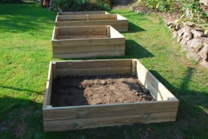 Access Wooden Raised bed kits