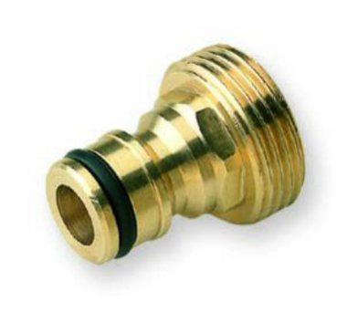 male brass hose fitting