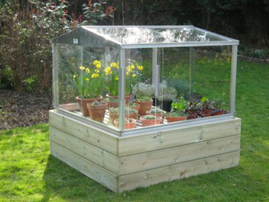 Cold Frame Raised Base | Access Garden Products
