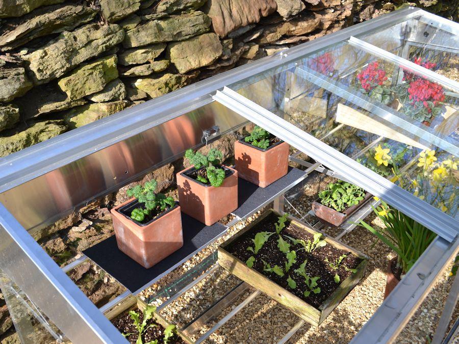 6ft half growhouse sliding roof