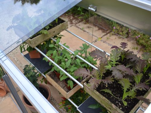 Midi greenhouse detail