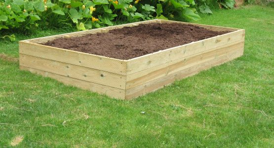 Timber Raised Beds for easier gardening