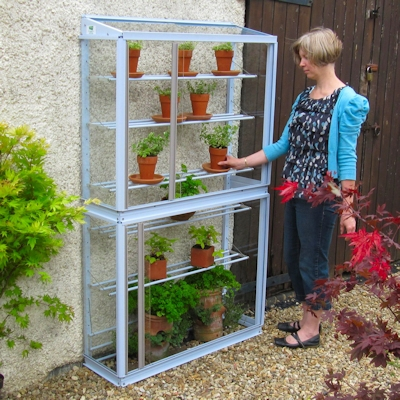 Excellent Small Greenhouse Ideal For Narrow Passageways Access Home Interior And Landscaping Ologienasavecom